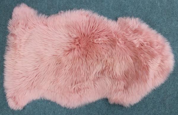 Lammfell zart rosa (Pink)