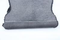 2er Lammfell grau - schwarz geschoren gelockt curly