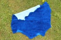 Sonderposten Lammfell Blau