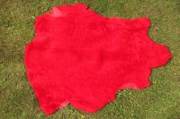 Sonderposten Lammfell Rot