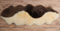 Doppelte Schaffelle zusammen genäht! Wellenoptik (1)