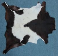 Ziegenfell Braun Weiß