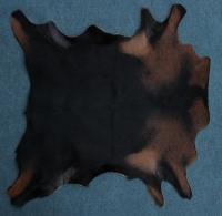Ziegenfell Braun Bunt