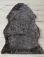 Lammfell  beige braun grau (Stone geschoren)