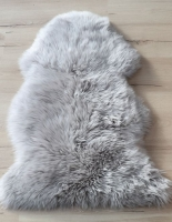 Lammfell Perl (beige weiß grau)