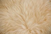 Lammfell (Pastell Gelb)