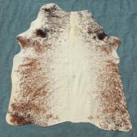 Kuhfell Braun Weiß Gespränkelt (2265)