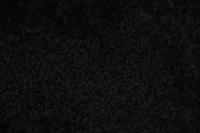 2er Lammfell schwarz geschoren gelockt curly