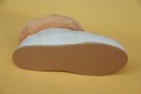 Lammfell Hausschuh - Wido - weiß
