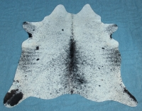 Kuhfell Schwarz Braun Grau Weiß (3224)