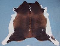 Kuhfell Schwarz Braun Weiß XXL (4059)