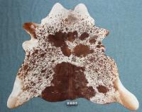 Kuhfell Braun Weiß Gesprenkelt (2407)