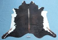 Kuhfell Schwarz Braun Weiß (3270)