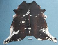 Kuhfell Schwarz Braun Weiß (3266)