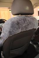 Autofell für Autositze mit Airbag im Sitz (Silber)