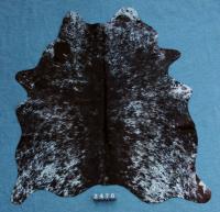 Kuhfell Schwarz Weiß Gesprenkelt (2476)
