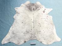 Kuhfell Grau Braun Weiß Gesprenkelt (2458)