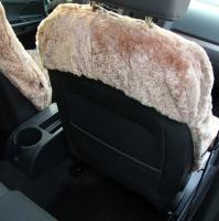 Autofell für Autositze mit Airbag im Sitz Farbe Sand