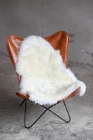 Lammfell Weiß